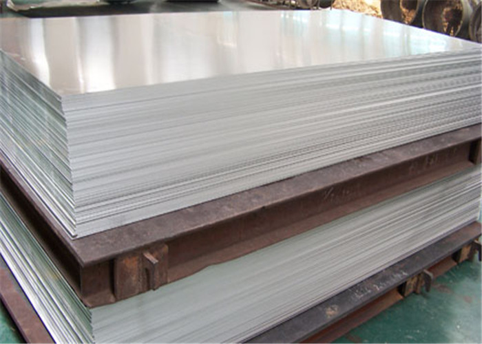 1.0mm 1.5mm 2mm 2.5mm Aluminum Alloy Sheet Industrial With PVC Film High Plasticity
