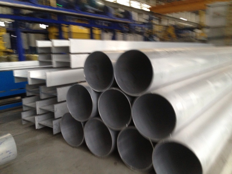 Anodizing 6063 Aluminum Extrusion Tube For Electrical Bus Conductor / Architectural