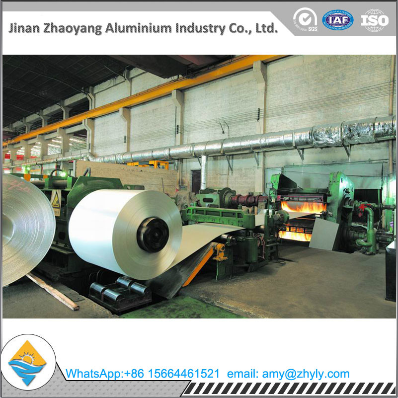 1050 1060 1070 1100 Mill Finish Aluminum Coil Aluminum Roll 0.2mm - 1.5mm Thick