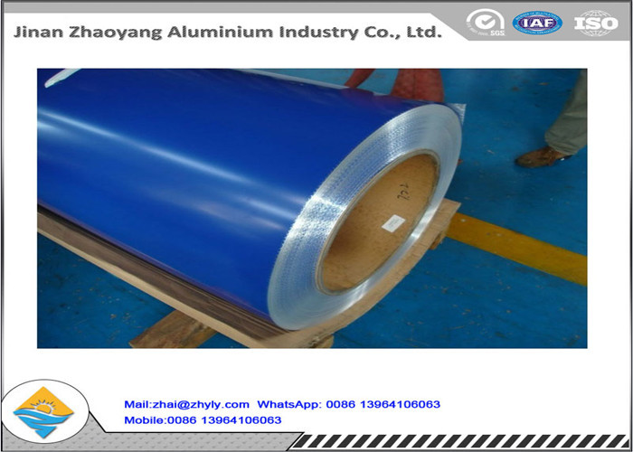 Customized Color Coated Aluminum Coil / Sheet Temper H14 H18 H24 H112 ISO